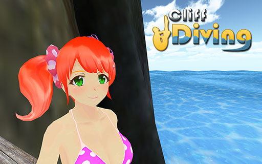 Cliff Diving 3D Android Screenshot