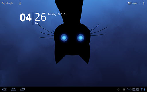 Stalker Cat Google Play Live Wallpaper