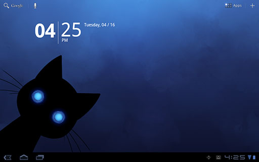 Stalker Cat Live Wallpaper Android Screenshot