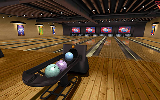 Galaxy Bowling 3D Android Screenshot